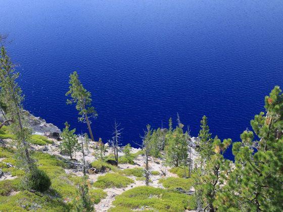 Blaues Wasser I
