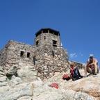 Auf dem Harnet Peak